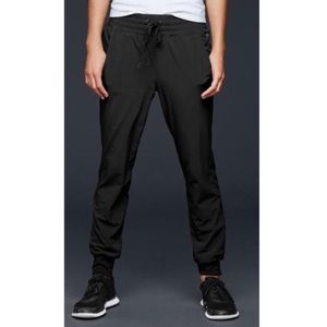 GAP Factory Fit True Black Drawstring Jogger Pants